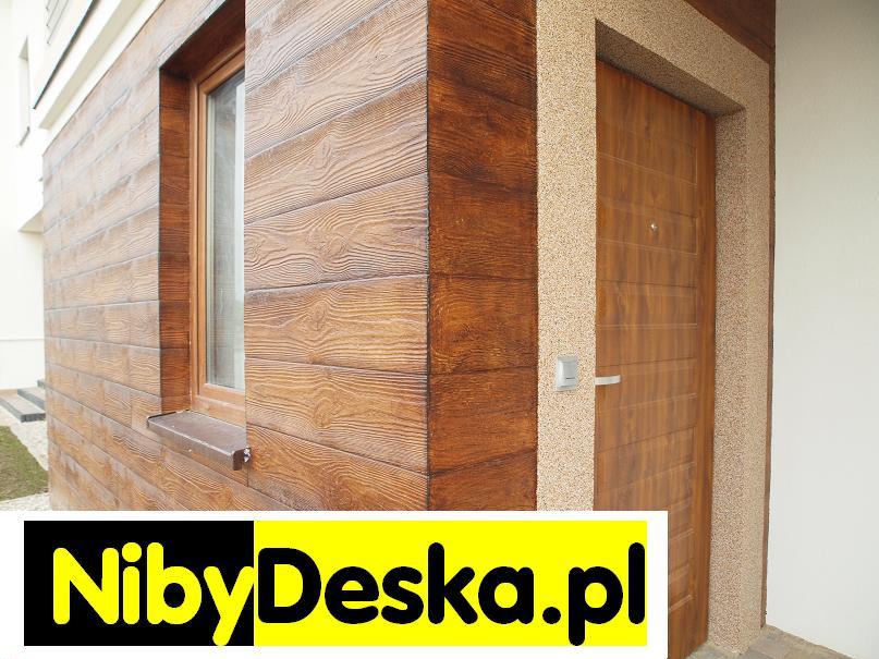 panele drewnopodobne elewacyjne
