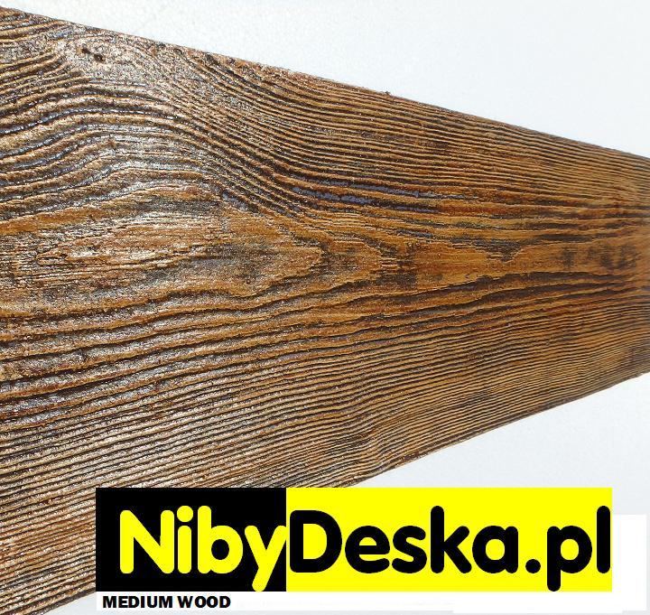 imitacja drewnianej elewacji